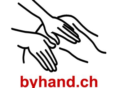 Massagepraxis by hand